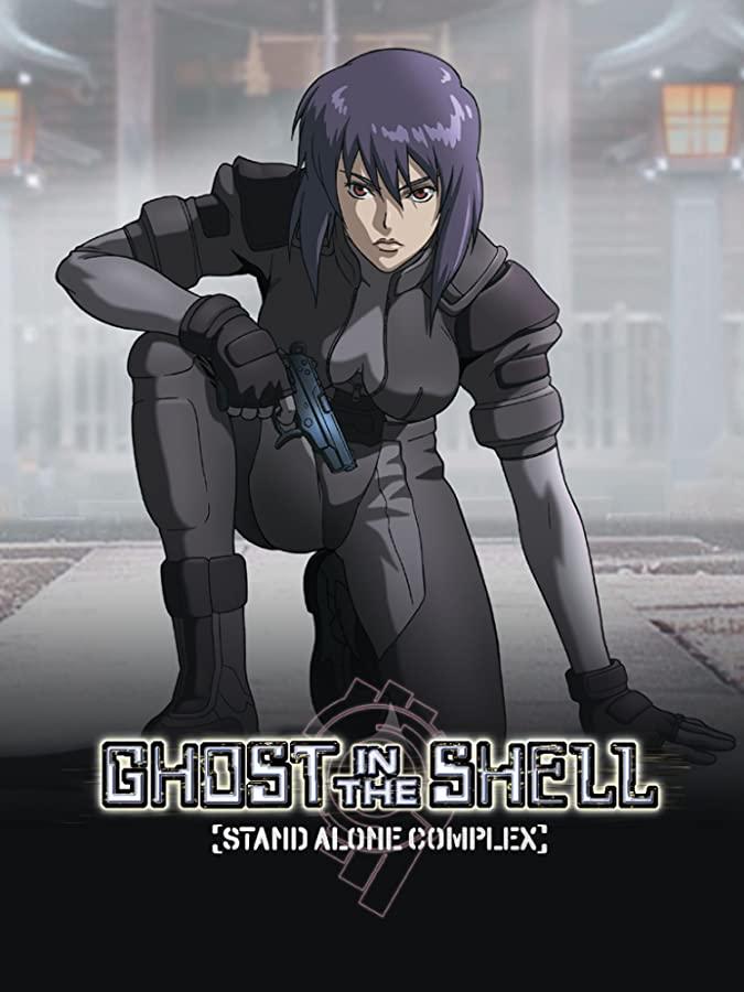 دانلود انیمه Ghost in Shell – روح در صدف