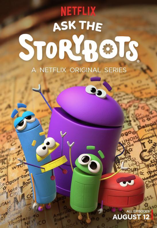 دانلود انیمیشن سریالی Ask the StoryBots – از ربات سخنگو بپرس