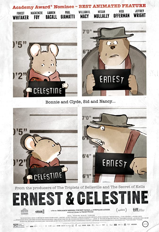 دانلود انیمیشن Ernest & Celestine – ارنست و سلستین