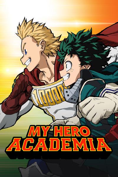 دانلود انیمه My Hero Academia