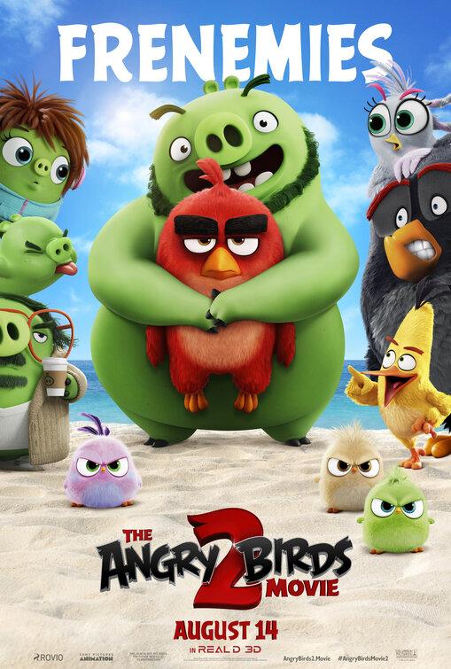 دانلود انیمیشن The Angry Birds Movie 2 – پرندگان خشمگین 2