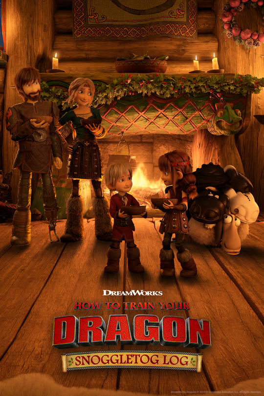 دانلود انیمیشن How to Train Your Dragon: Snoggletog Log