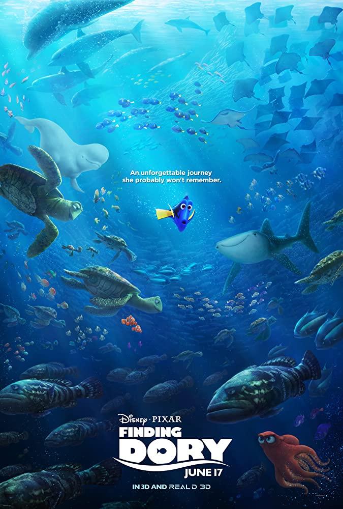 دانلود انیمیشن Finding Dory – در جستجوی دری