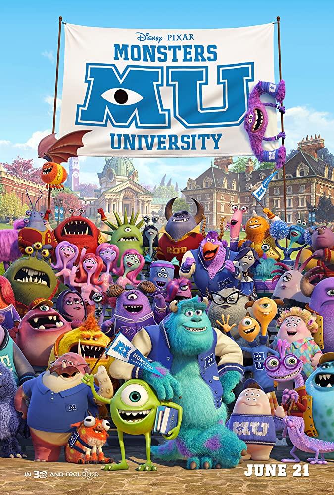 دانلود انیمیشن Monsters University – دانشگاه هیولاها