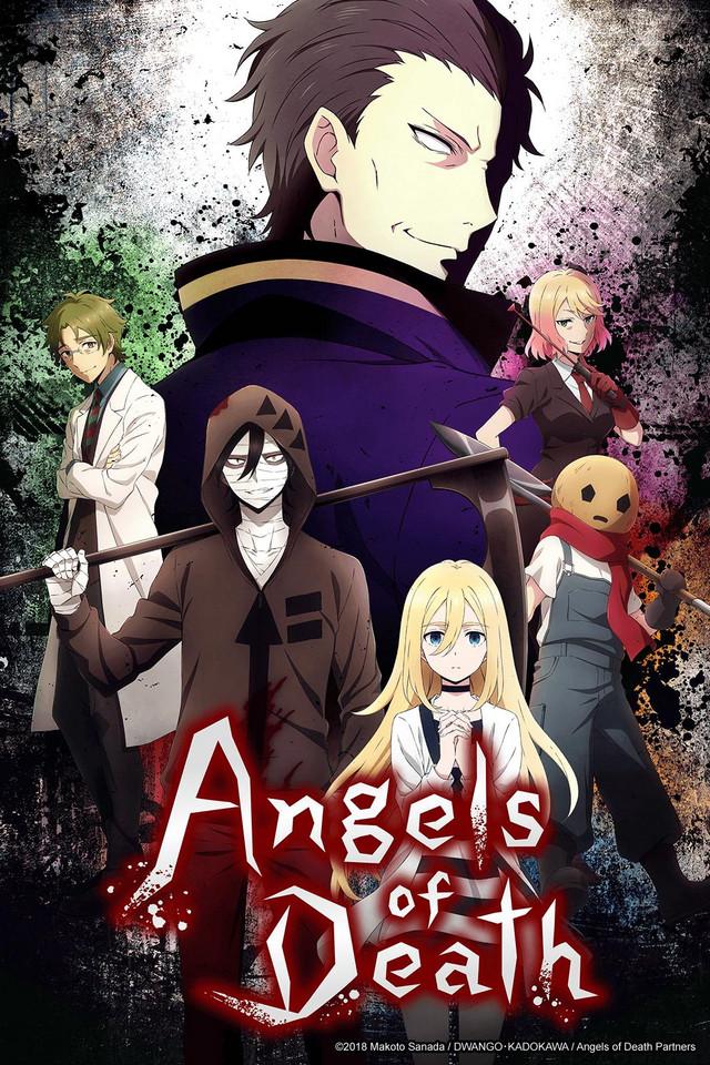دانلود انیمه Angels of Death – فرشتگان مرگ