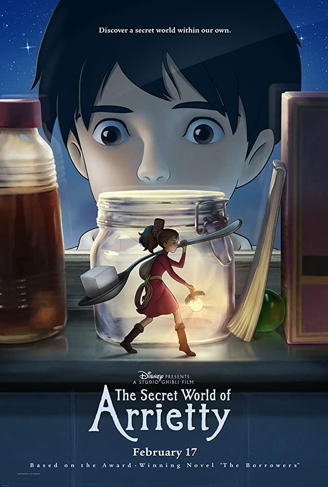 دانلود انیمه The Secret World of Arrietty