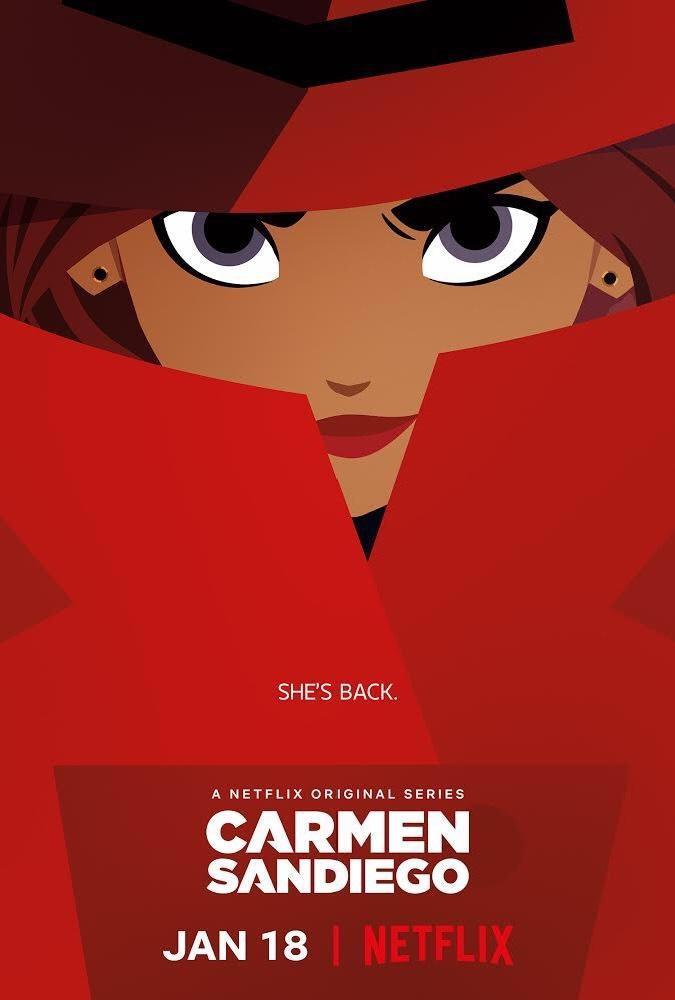 دانلود انیمیشن Carmen Sandiego