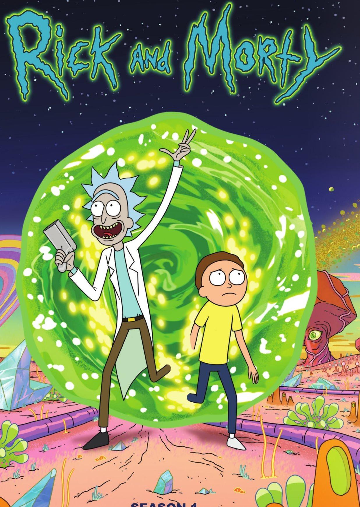 دانلود انیمیشن Rick and Morty