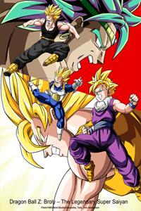 دانلود انیمه Dragon Ball Z: Broly – The Legendary Super Saiyan