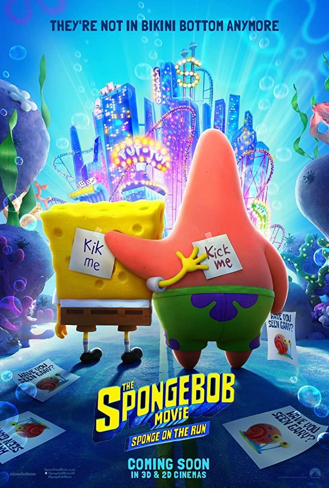 دانلود انیمیشن The SpongeBob Movie: Sponge on the Run