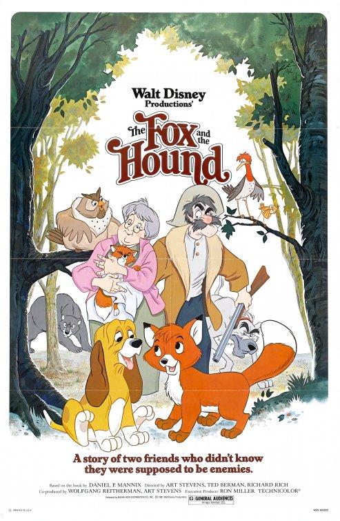 دانلود انیمیشن The Fox and the Hound