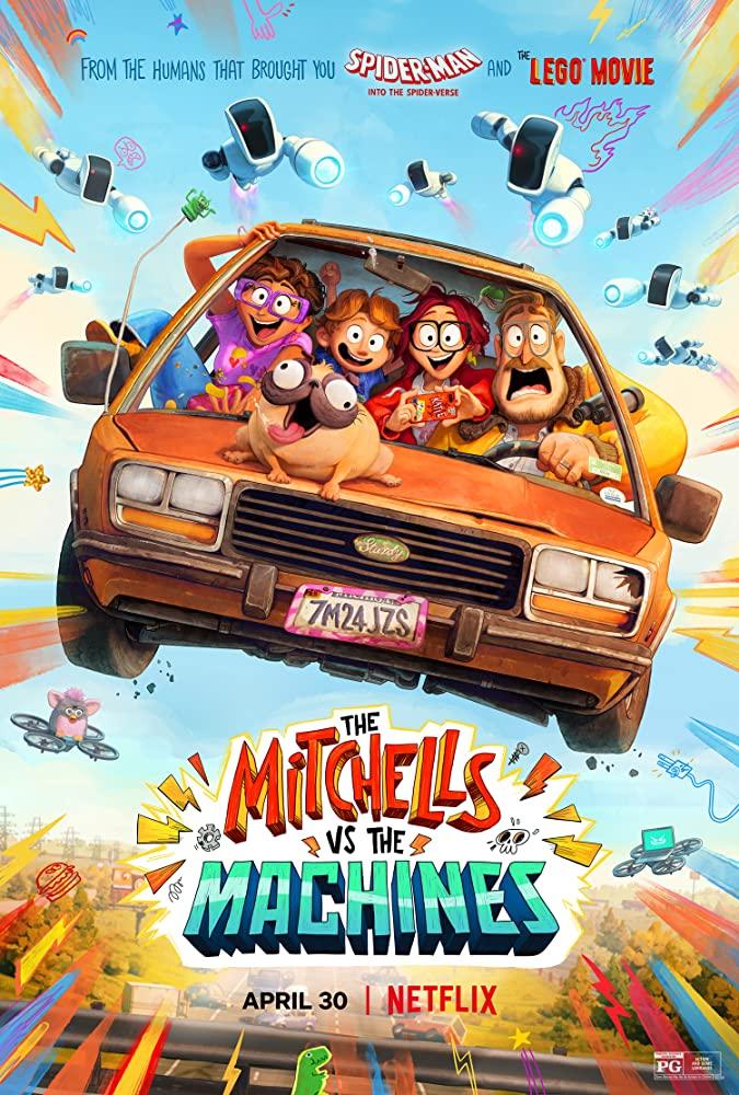 دانلود انیمیشن The Mitchells vs the Machines